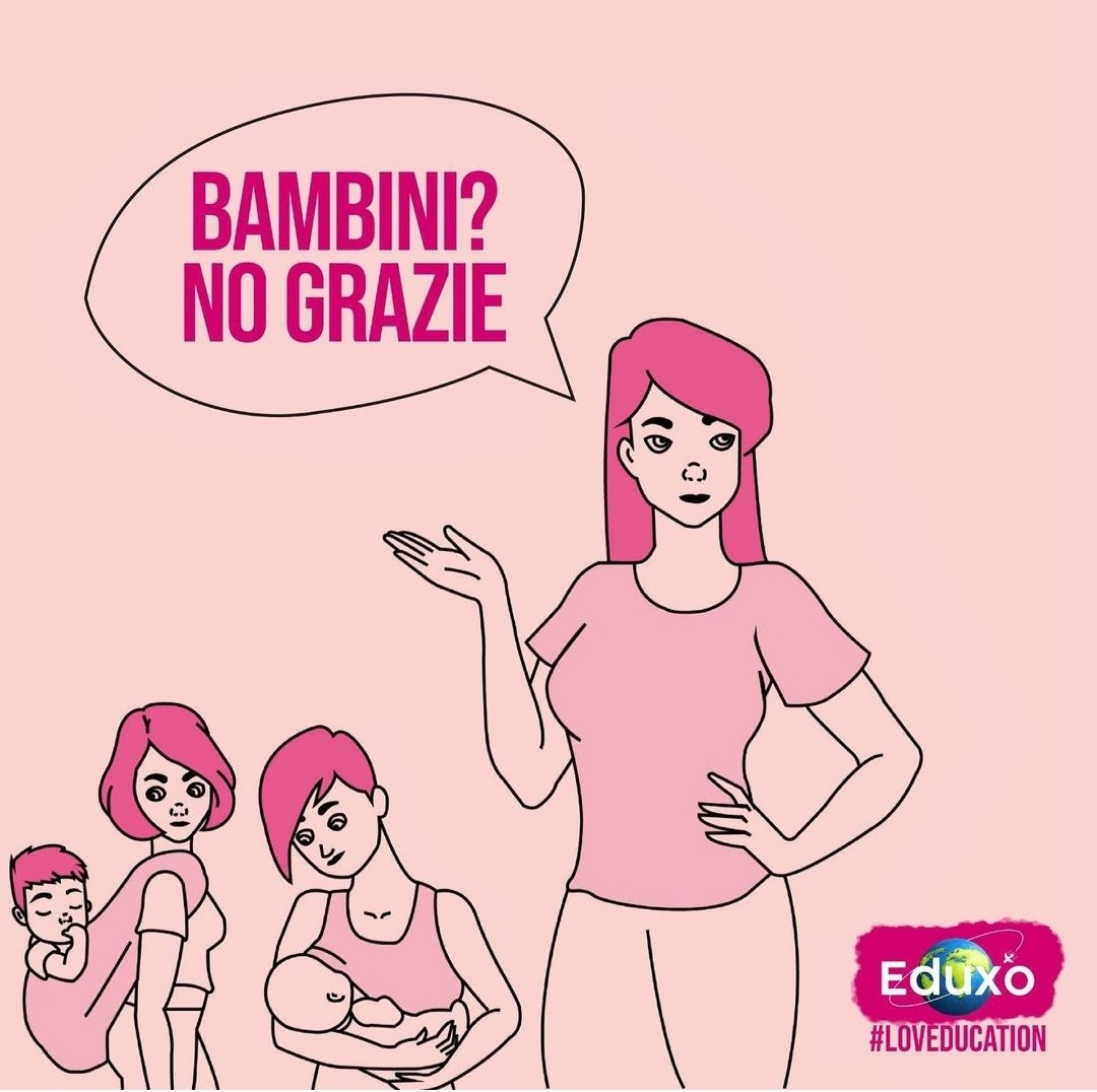 You are currently viewing Bambini? No grazie!