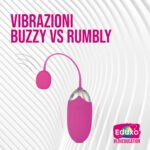 Vibratori Buzzy VS Rumbly