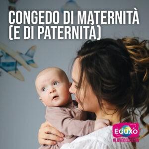 Read more about the article Congedo di maternità (e di paternità)