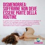 Read more about the article Dismenorrea: soffrirne non deve essere routine