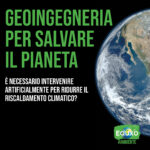 Read more about the article Geoingegneria per salvare il pianeta
