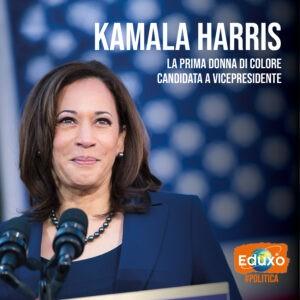 Read more about the article Kamala Harris: la prima donna nera ad essere candidata Vicepresidente