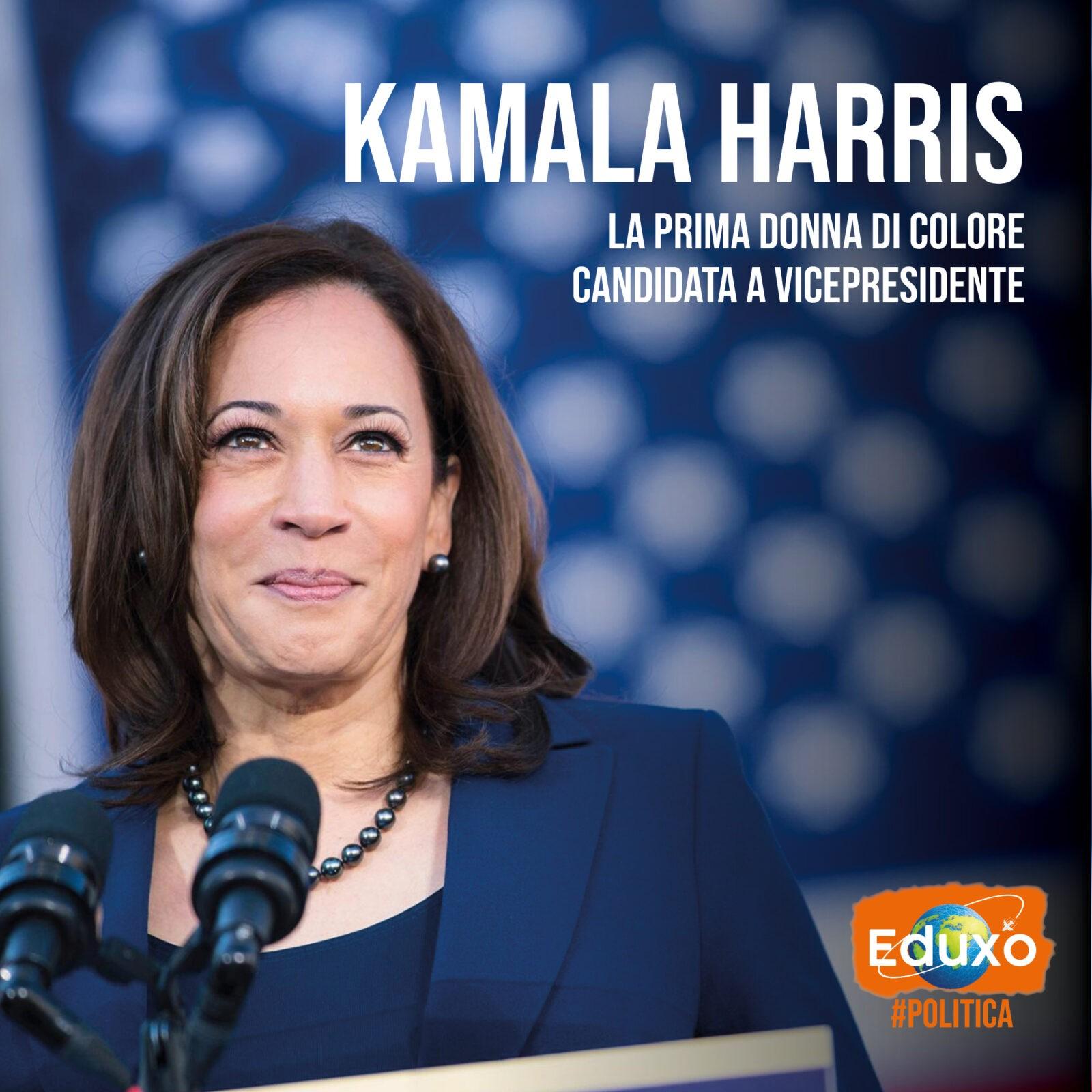 You are currently viewing Kamala Harris: la prima donna nera ad essere candidata Vicepresidente