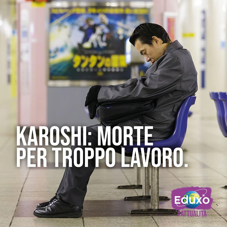 Karoshi, morte per troppo lavoro
