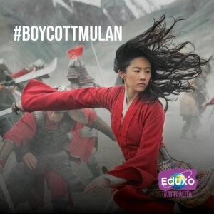 #BoycottMulan