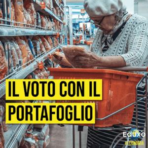 Read more about the article Il voto con il portafoglio