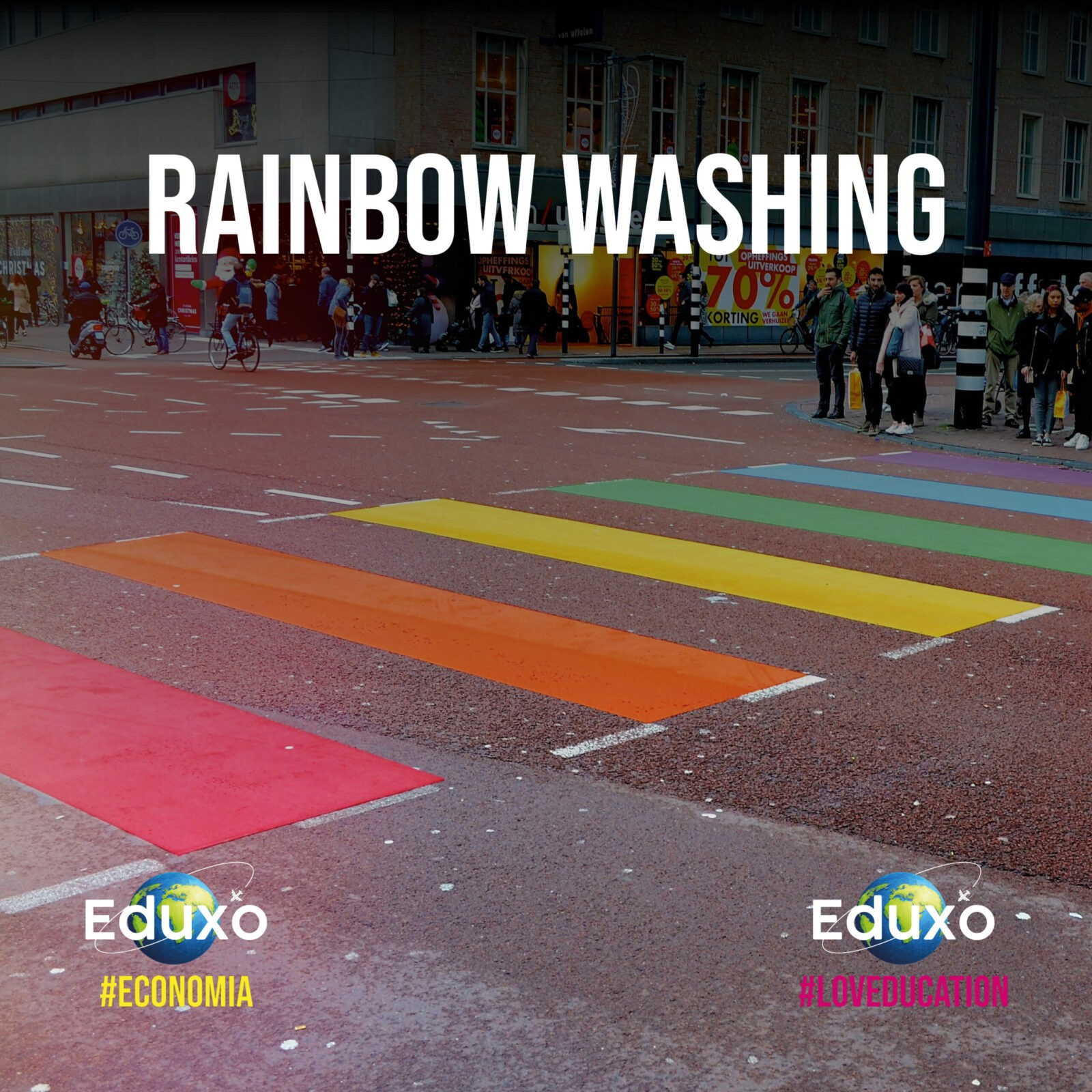 You are currently viewing Rainbow washing