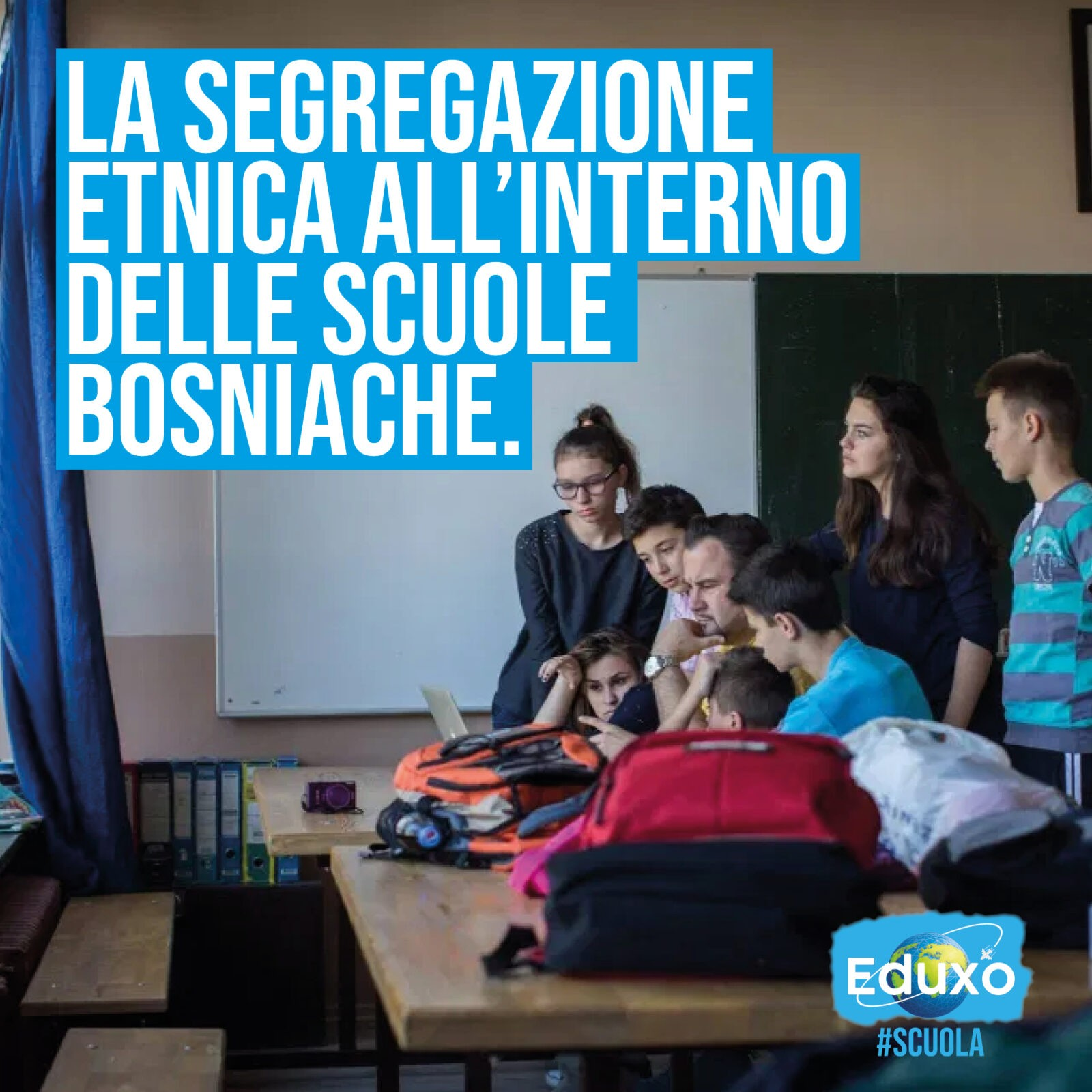 You are currently viewing Segregazione etnica all'interno delle scuole bosniache