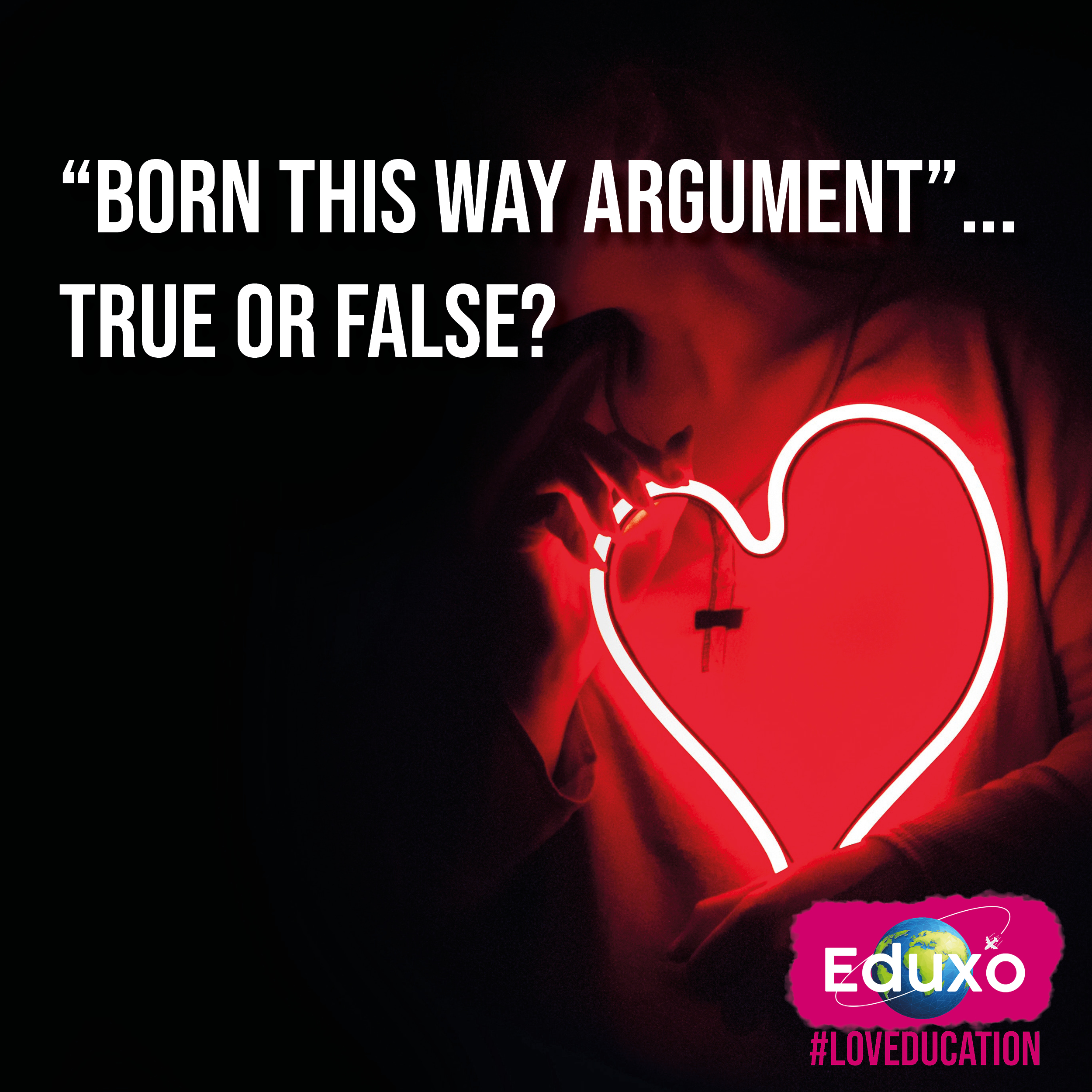 """You are currently viewing """"Born this way argument"""" – True or False?"""