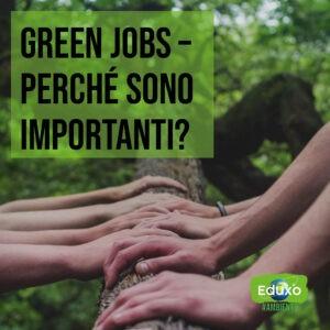 Read more about the article Green jobs: perchè sono importanti?