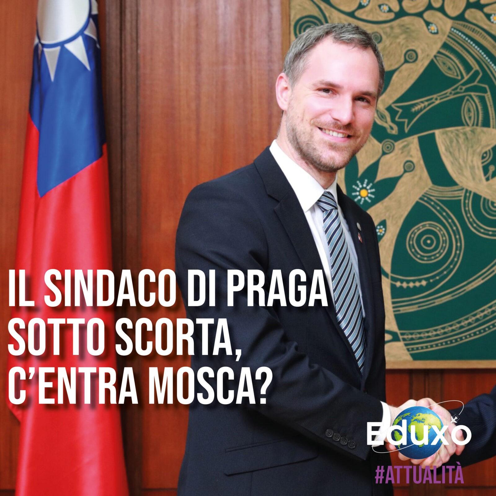 You are currently viewing Il Sindaco di Praga sotto scorta, c'entra Mosca?