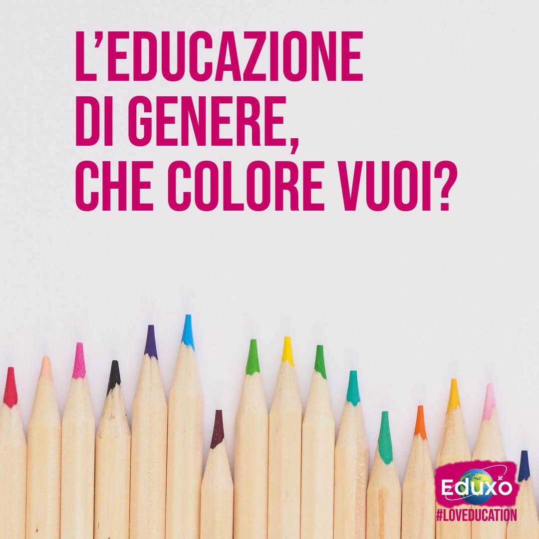 You are currently viewing L'educazione di genere: che colore vuoi?