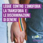 Read more about the article Legge contro l'omofobia, la transfobia e le discriminazioni di genere