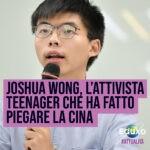 Read more about the article Joshua Wong, l'attivista teenager che ha fatto piegare la Cina