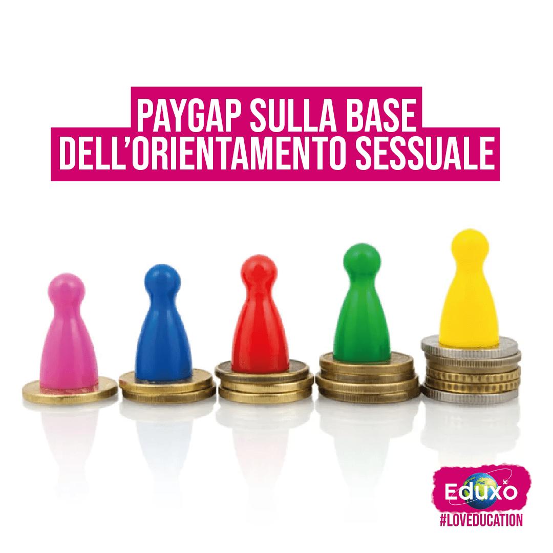 Pay gap sulla base dell'orientamento sessuale