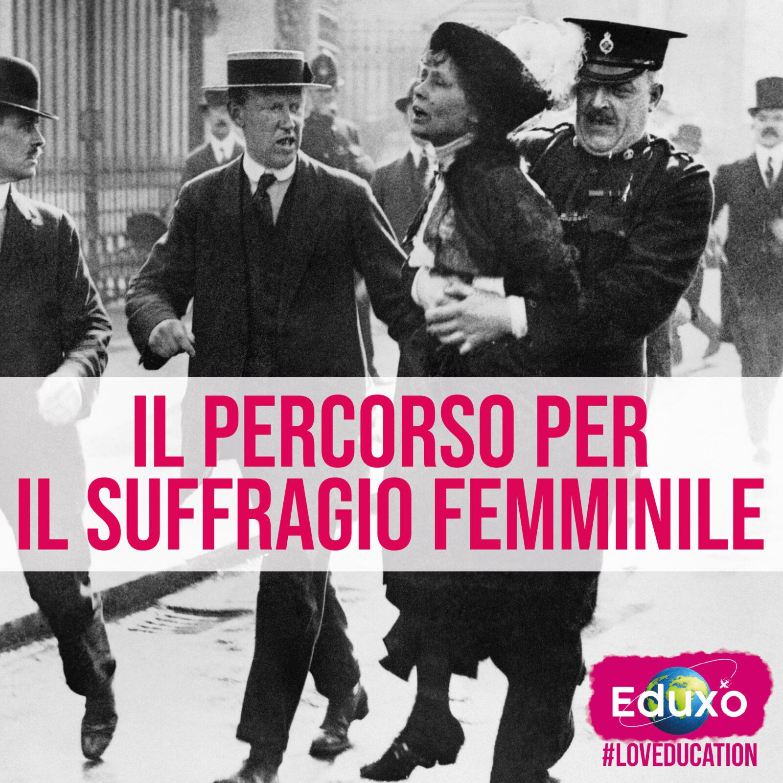 You are currently viewing Il percorso per il suffragio femminile