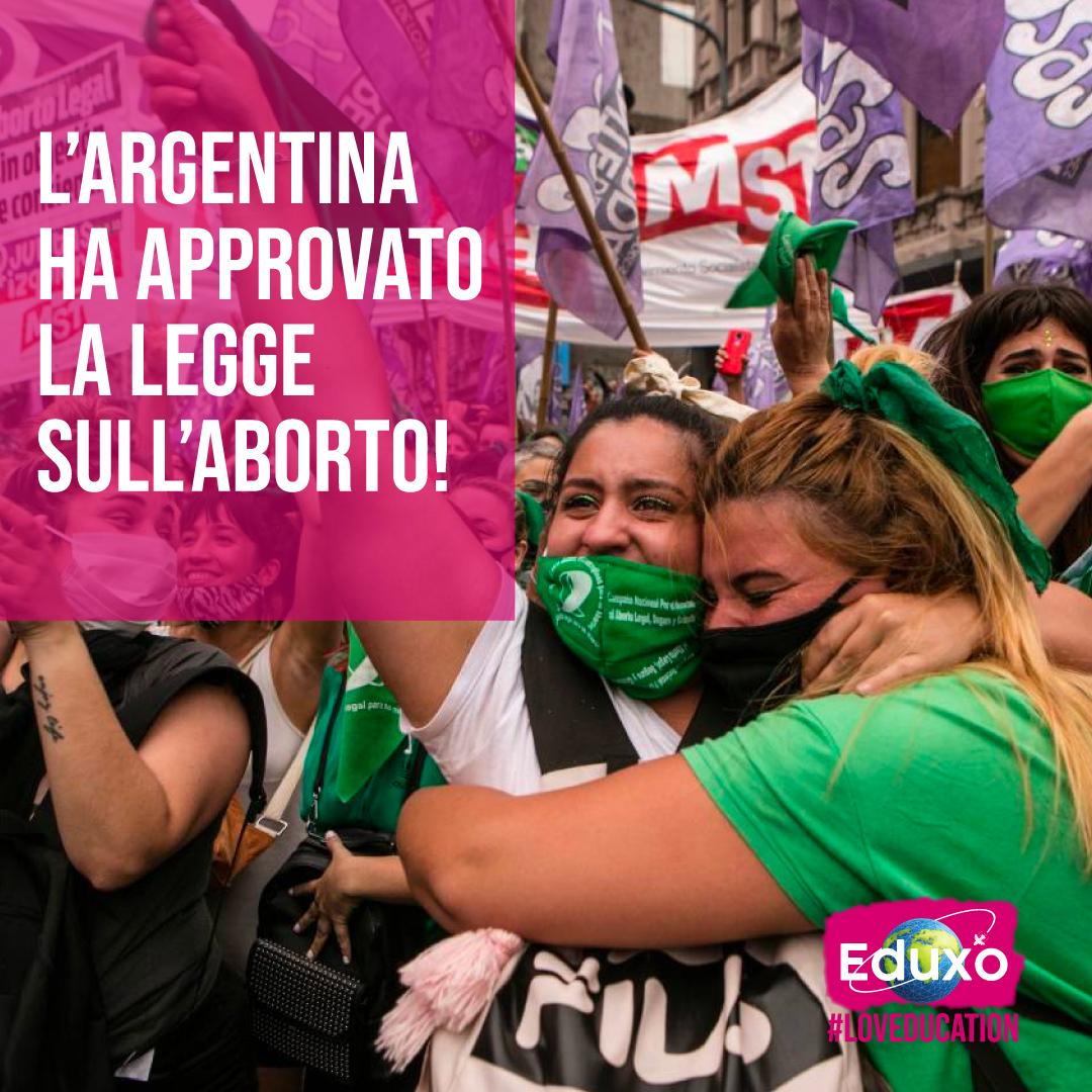L'Argentina ha finalmente approvato la legge sull'aborto!