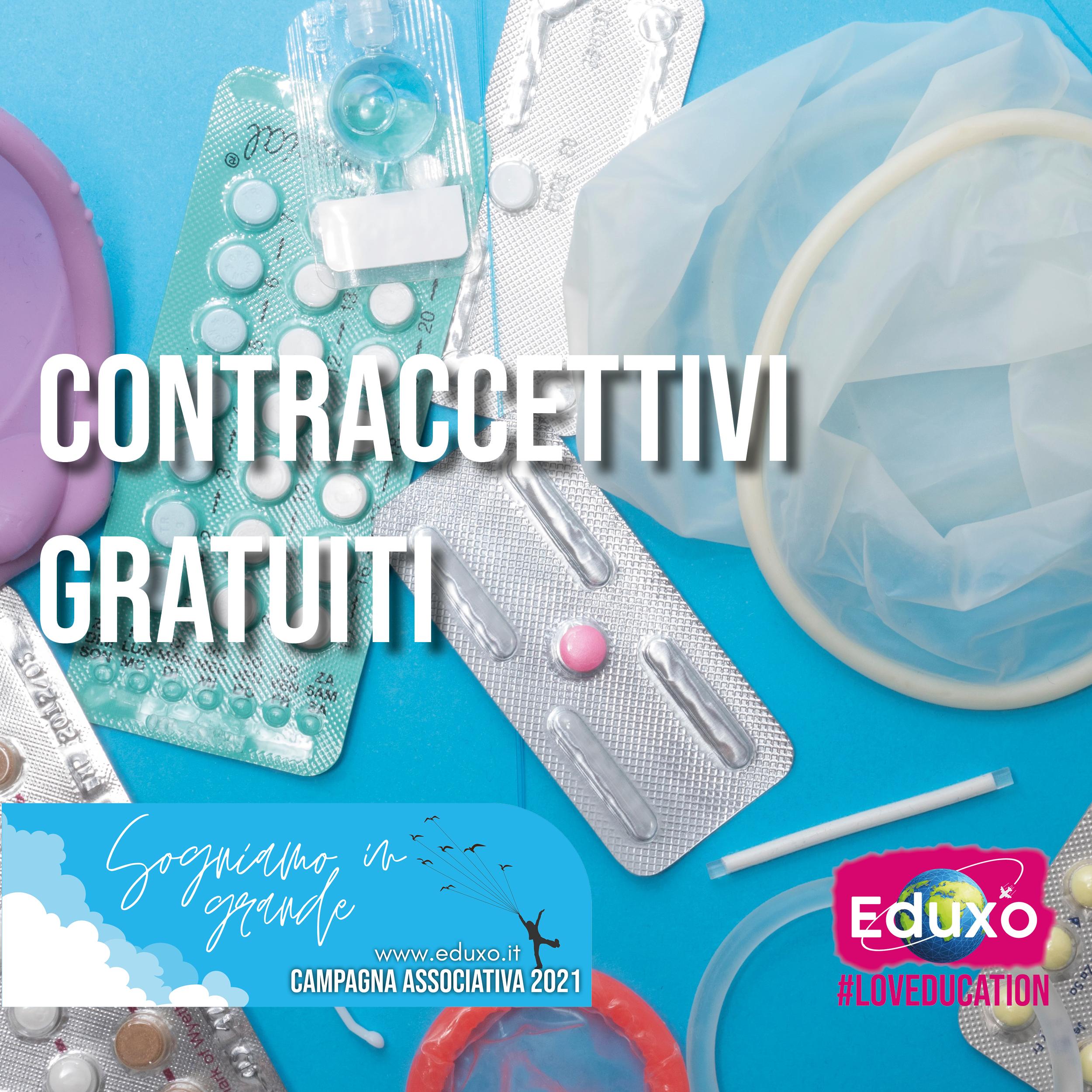 Contraccettivi gratuiti