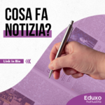 Cosa fa notizia? Agenda Setting & Policy Cicle