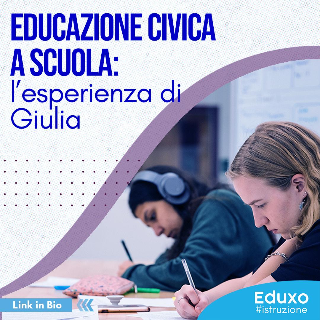 Educazione civica a scuola: l'esperienza di Giulia