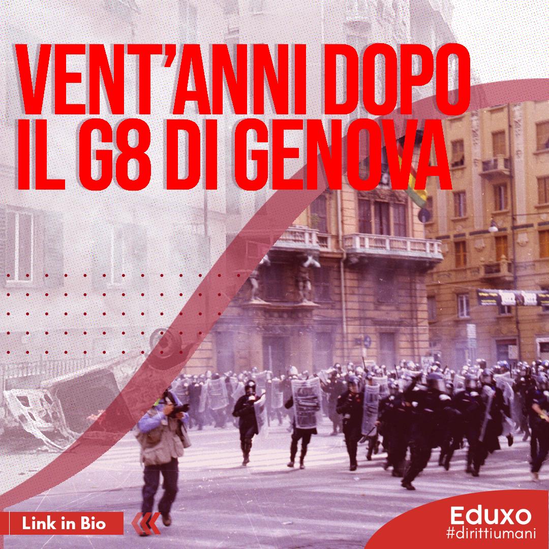 You are currently viewing Vent'anni dopo il G8 di Genova