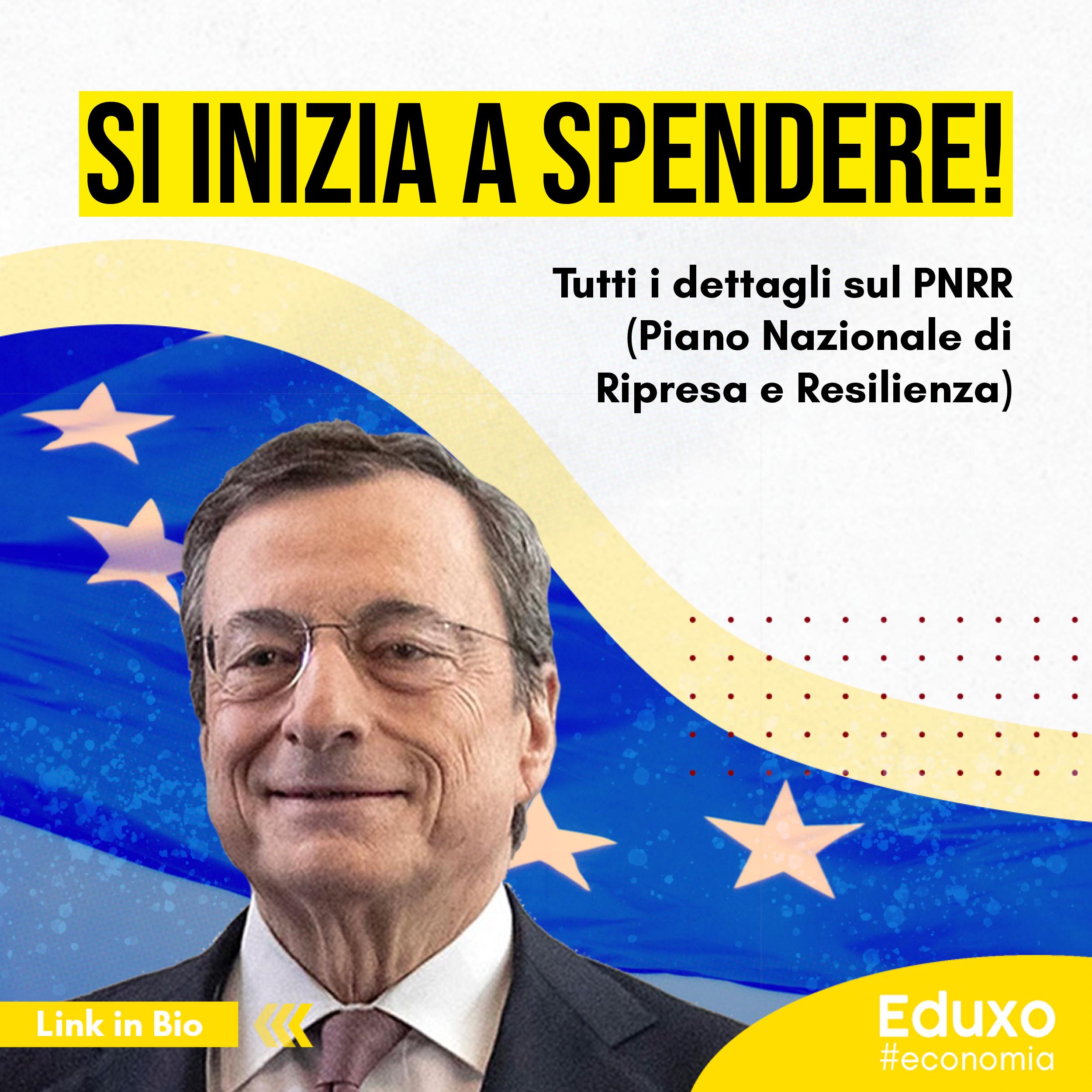 PNRR: Si inizia a spendere!
