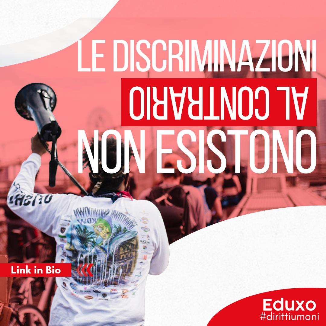 You are currently viewing LE DISCRIMINAZIONI AL CONTRARIO NON ESISTONO