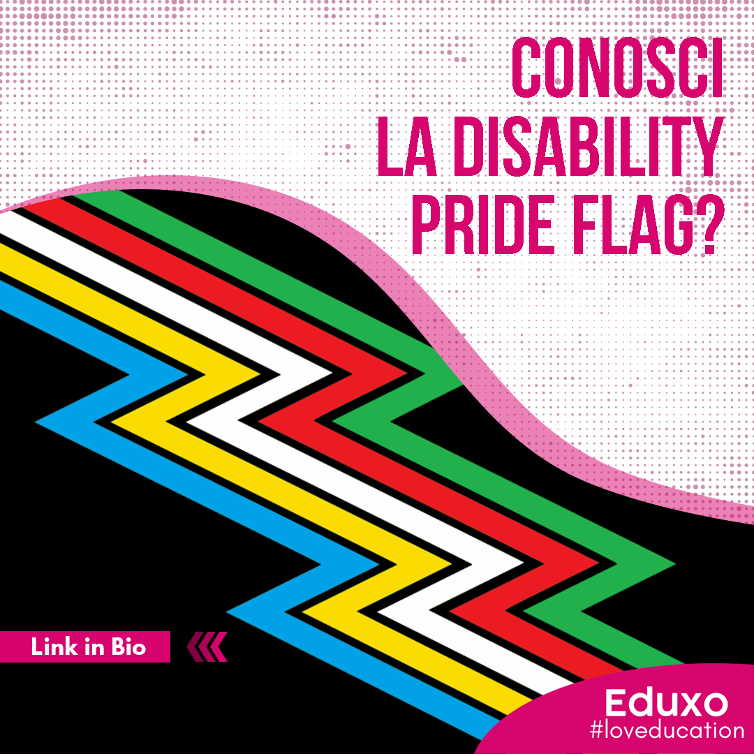 You are currently viewing Conosci la Disability Pride Flag?