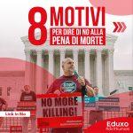 Read more about the article 8 motivi per dire di NO alla PENA DI MORTE